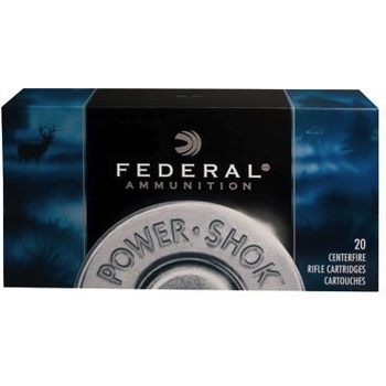 Federal Power Shok Ammo 300 Win Mag 180gr Soft Point 20 Rounds