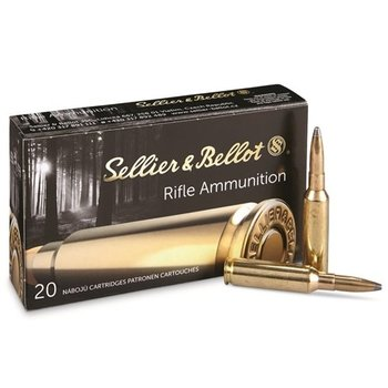 Sellier & Bellot Sellier & Bellot 6.5 Creedmore 131gr SP Ammunition