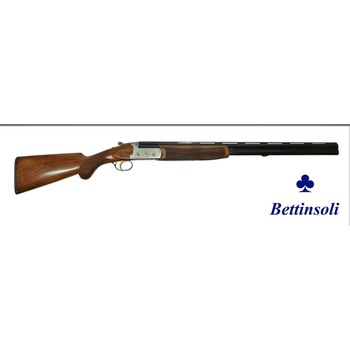 "Bettinsoli X-Trail Shotgun, 20ga Silver Receiver 28"" Over/Under Barrels 3"" Chamber"