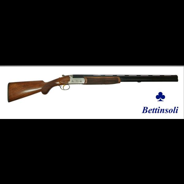 "Bettinsoli X-Trail Shotgun, 20ga Silver Receiver 28"" Over/Under Barrels 3"" Chamber"