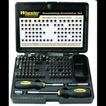 Wheeler Engineering 562194 Gunsmithing Kit 89 Piece Deluxe