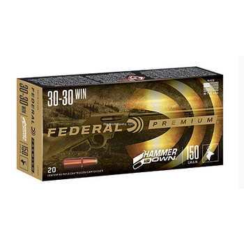 Federal LG30301 Hammer Down, 30-30 WIN, 150 Grain, 20 Round Box