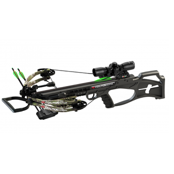 PSE Coalition Frontier Crossbow Pkg 380FPS Kryptek