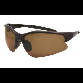 Streamside Avalanche Polarized Sunglasses. Brown