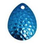Compac Jaws Floating Worm Harness. 15lb Hammered Blue