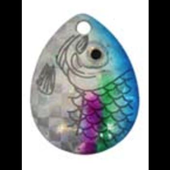 Compac Jaws Walleye Rig. Prism Blue 18lb