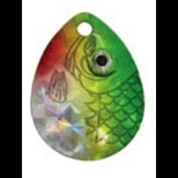 Compac Jaws Walleye Rig. Prism Green 18lb