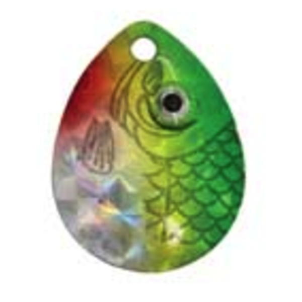 Compac Jaws Floating Worm Harness. 15lb Prism Green