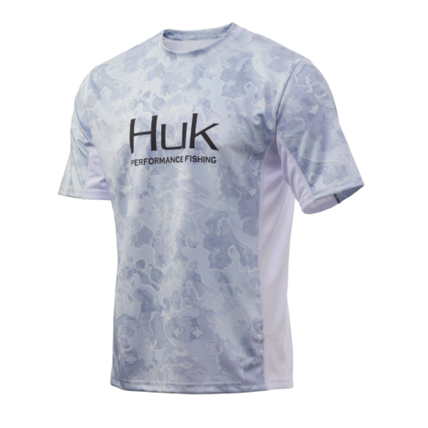 Huk Icon X Camo Short Sleeve. Current Kenai L