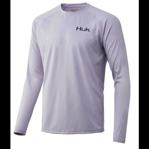 Huk 'd Up Pursuit Long Sleeve XXXL. Lavender Blue
