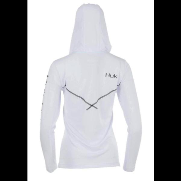 Huk Womens Icon X Hoodie XL. White