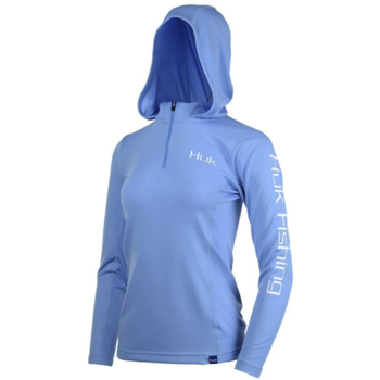 Huk Womens Icon X Hoodie L. Carolina Blue
