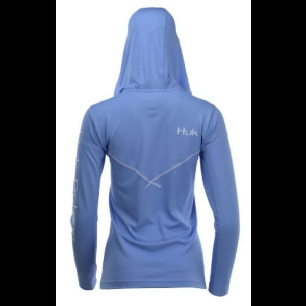 Huk Womens Icon X Hoodie XL. Carolina Blue