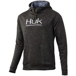 Huk Fin Hoodie M. Heather Black