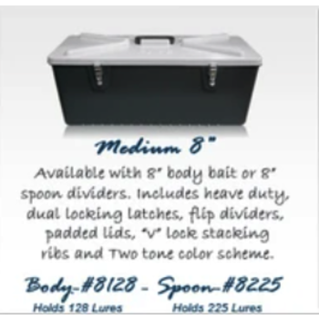 Special Mate Tackle Box. Spoon Med