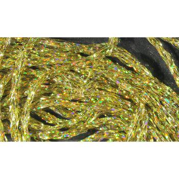 Hareline Dubbin Diamond Braid DP183--Gold