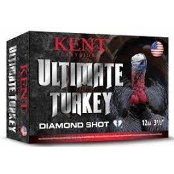"Kent Kent Ultimate Diamond Turkey Shot Ammo 12ga 3"" 1-3/4oz #4 Shot, 10 Rounds"