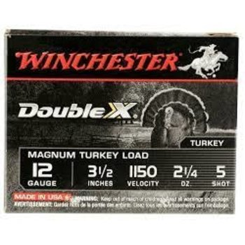 "Winchester Winchester Supreme XX Magnum Turkey Ammo 12ga 3-1/2"" 2-1/4oz #5 Lead Shot 10 Rounds"