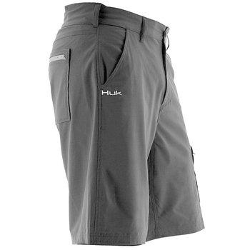 "Huk Next Level 10.5"" Short, Black, XL"