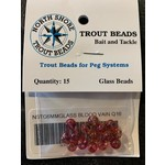 North Shore North Shore Tackle Glass Beads 6mm Blood Vain