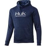 Huk Fin Hoodie XXL. Sargasso Sea Heather