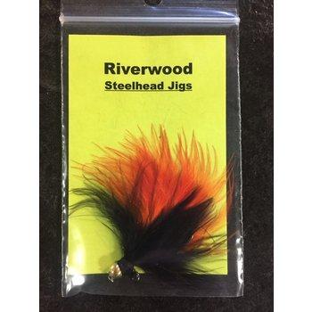 Riverwood Riverwood Steelhead Jig Black\Orange