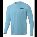 Huk 'd Up Pursuit Long Sleeve XL. Ice Blue