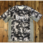Huk Icon X KC Refraction Camo SS Short Sleeve L