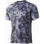 Huk Icon X KC Refraction Camo SS Short Sleeve M