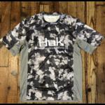 Huk Icon X KC Refraction Camo SS Short Sleeve XL