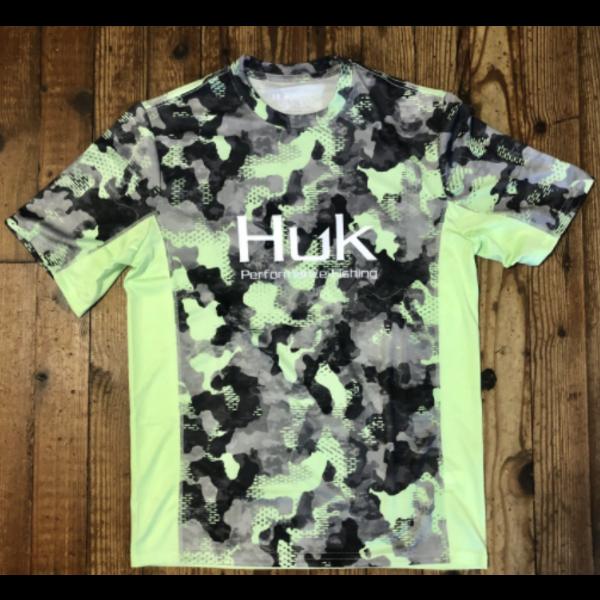 Huk Icon X KC Refraction Camo SS Short Sleeve XXL New Superior