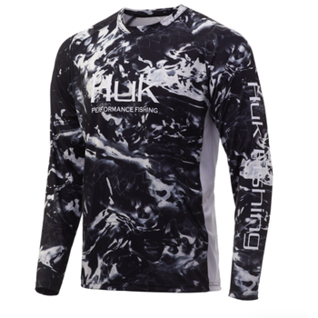 Huk Mossy Oak Pursuit Long Sleeve. M Mossy Oak Blackwater