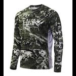 Huk Mossy Oak Pursuit Long Sleeve. XL Mossy Oak Freshwater