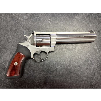 """Ruger GP100 357 Mag 6"""" Stainless Revolver"""