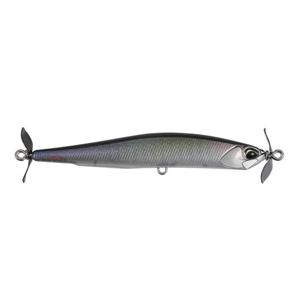 """Duo Realis Spinbait 80 G-Fix. Ghost M Shad 3/8oz 3-1/8"""""""