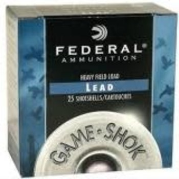 Federal Game Shok 12 GA 3in MAG  #4 1-5/8oz Shotgun Ammunition
