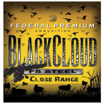 "Federal Black Cloud Close Range Shotshells PWBD2094, 20 Gauge, 3"", 1 oz, 1350 fps, #4 Steel Shot, 25 Rds/Bx"