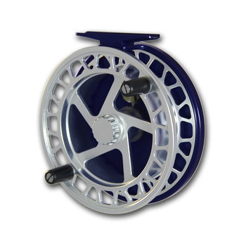 Raven Helix Centrepin Float Reel Silver/Black
