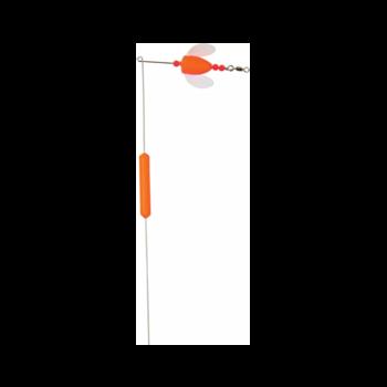 Yakima Worden's Spin-N-Glow Bottom Walker 1oz Flame