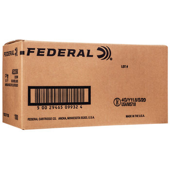 Federal XM193BKX American Eagle 5.56x45mm NATO 55 gr Full Metal Jacket Boat Tail (FMJBT) 1000 Bx/ 1 Cs