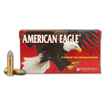 Federal American Eagle Handgun Ammo 38 Special 158gr Lead Round Nose 760fps 50 Rounds