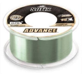 Sufix Advance Monofilament 14lb 330yds Low-Vis Green