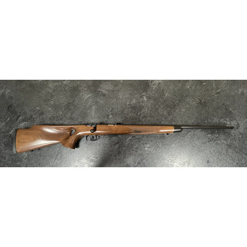 Savage M93 22 WMR Bolt Action Rifle w/Walnut Thumbhole Stock