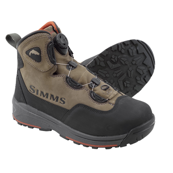 Simms Headwaters BOA Wading Boots. Vibram Sole 11 Wetstone