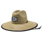 Huk Camo Patch Straw Hat. Erie