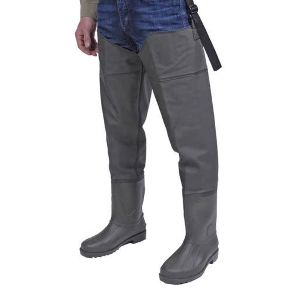 Bushline PVC Ultrastretch Hip Waders. Size 12