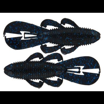 "Googan Baits Bandito Bug 3.3""  Black Blue Flake 9-pk"