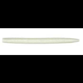 """Googan Baits Lunker Log 5"""" Pearl 8-pk"""