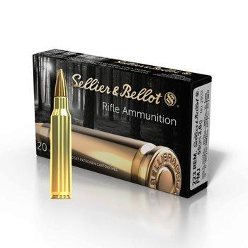 Sellier & Bellot 223 Rem FMJ 55 Gr Ammunition