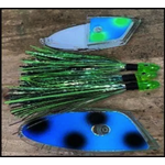 Ito Flies Meat Rig. Clear 949 Two Face 17-168-3